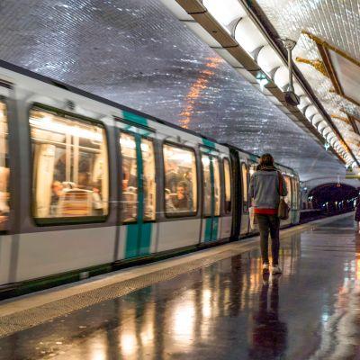 Pariisin metro.