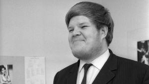 Ylen toimittaja Atte Blom vuonna 1967