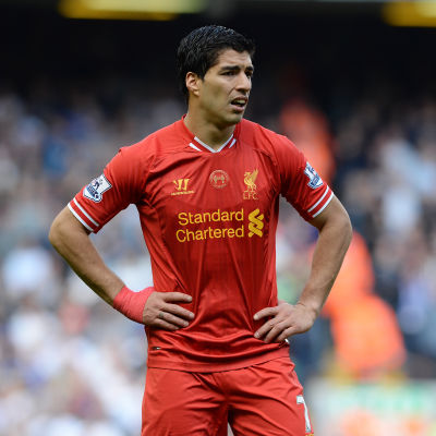 Luis Suarez, Liverpool.