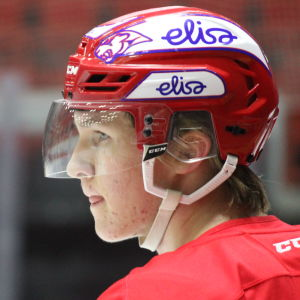 HIFK:s centerforward Anton Lundell