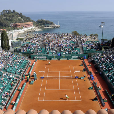 Fina förhållanden vid Monte Carlo Countru Club.