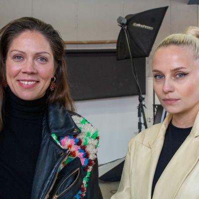 Olga Poppius ja Viivi Huuska
