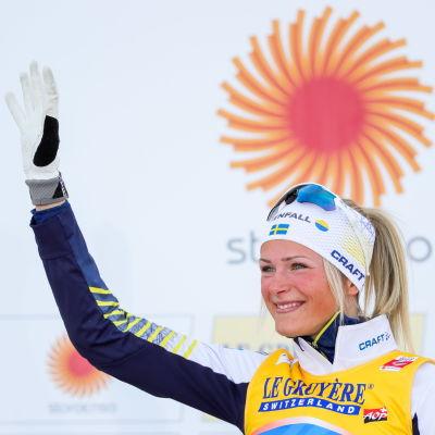 Frida Karlsson knep VM-silver i Seefeld.