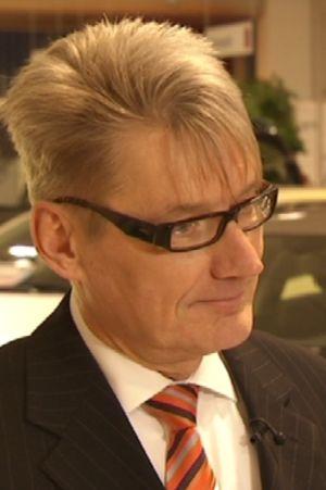 Toimitusjohtaja Mikko Huopalainen.