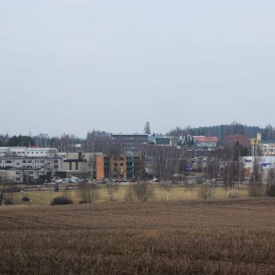 Nickby centrum.