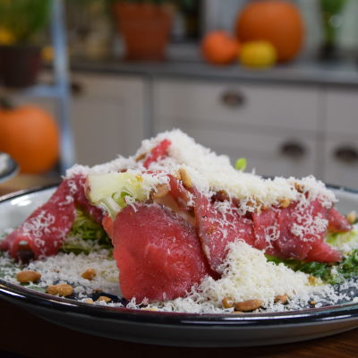 Portion carpaccio