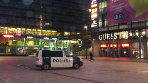 Polisbil i Kampen.