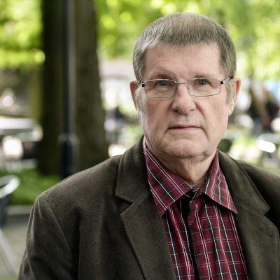 "Matti ""Fredi"" Siitonen kuvattuna toukokuussa 2012."