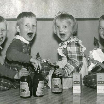 Jouppilan neloset mainoskuvassa
