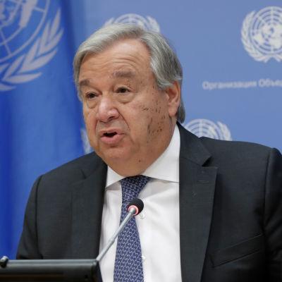 FN:s generalsekreterare Antonio Guterres.