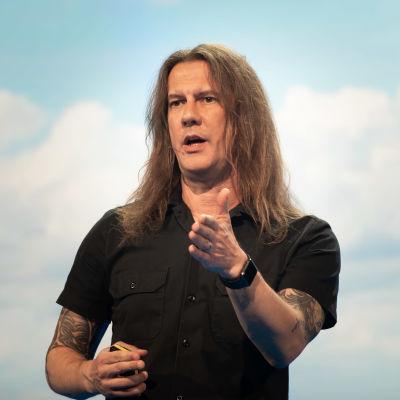 Yhdysvaltalainen kyberasiantuntija Trend Micron tutkimusjohtaja Rik Ferguson.