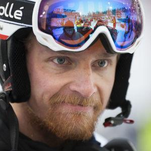 Joonas Räsänen siktar på att ta sina första världscuppoäng i Levi i november 2018.