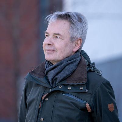 Poliitikko, Vihreän liiton kansanedustaja ja Suomen ulkoministeri Pekka Haavisto, Helsinki, 5.4.2020.