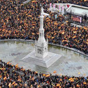 Demonstration i Madrid 10.2.2019