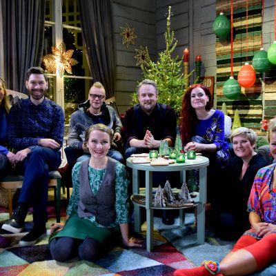 Strömsö gör sista minuten julförberedelser i specialsändning.