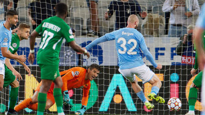 Jo Inge Berget gjorde 2–0-målet för Malmö.