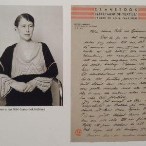Loja Saarinen brevkorrespondens 1930-talet.