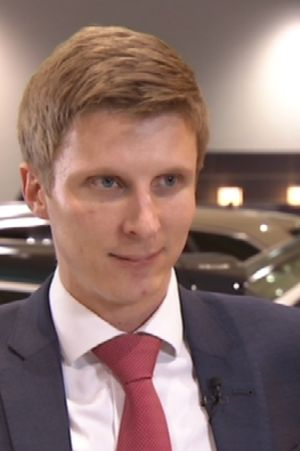 LänsiAuton toimitusjohtaja Tommi Köninki.