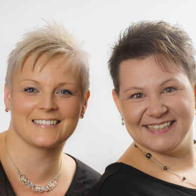 Lotta Borg och Susanne Ljunggren