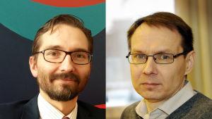 Fredrik Guseff (t.v) och Tomi Venho