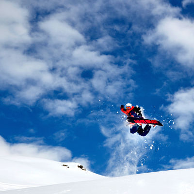 Snowboardåkaren Niklas Hollsten