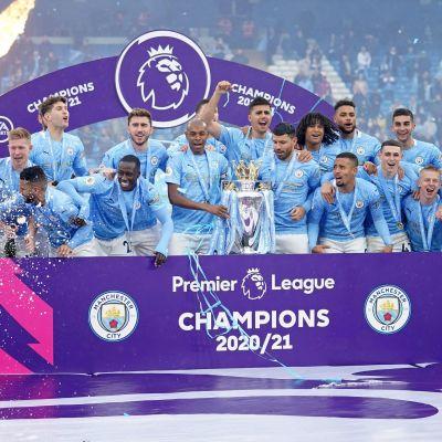 Manchester City firar PL-titel.