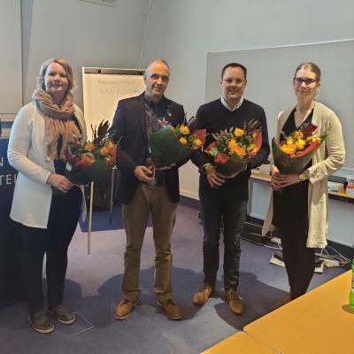 Etelä-Karjalan yrittäjät järjestäytyi puheenjohtaja Tommi Matikaisen johdolla.