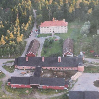 Iskolan vanhan vankilan aluetta