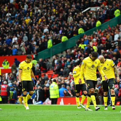 Aston Villa förlorade mot Manchester United