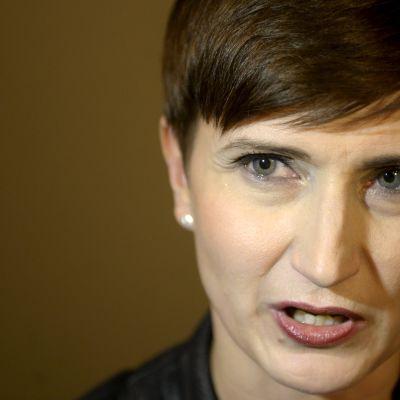 Omsorgsminister Susanna Huovinen.