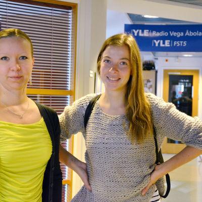 Saara Ilvessalo och Li Andersson