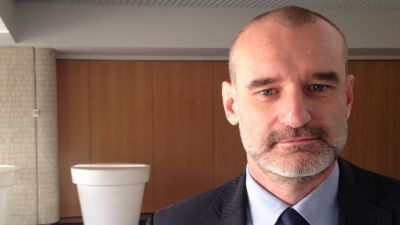 Crist S.A. - varvets marknadsföringschef Maciej Lisowski.