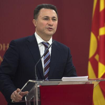 Makedoniens premiärminister Nikola Gruevski.