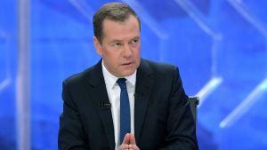 Rysslands premiärminister Dimitrij Medvedev.