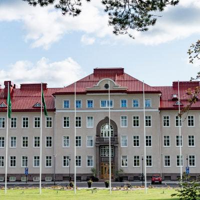 Stadshuset i Ekenäs.