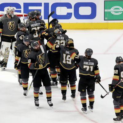 Vegas har utjämnat semifinalserien till 1–1.