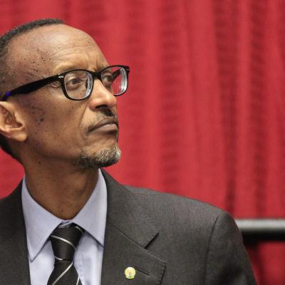 Rwandas president Paul Kagame.