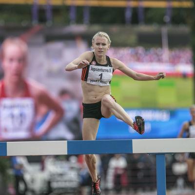 Sandra Eriksson, Kalevaspelen 2015.