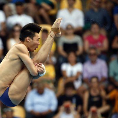 Aisen Chen Rion olympialaisissa 2016.