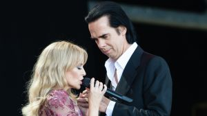 Nick Cave och Kylie Minogue