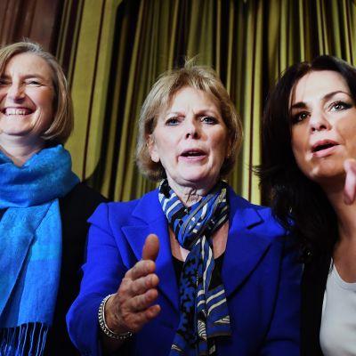 Sarah Wollaston, Anna Soubry och Heidi Allen