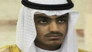 Osama bin Ladens son Hamza bin Laden.