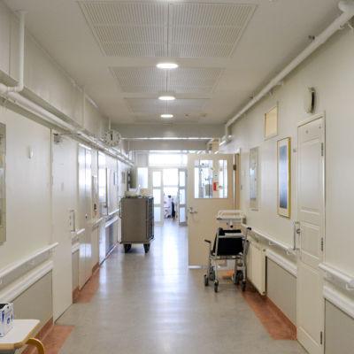 en sjukhusgång