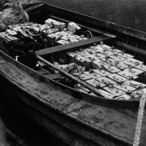 Vene täynnä spriikanistereita.