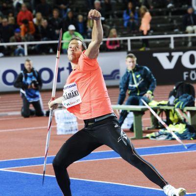 Tero Pitkämäki under DN-galan 2014