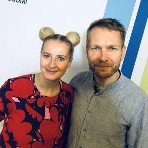 Virpi Eroma ja Sami Kuoppamäki