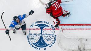 Marko Anttila målskytt i VM-finalen (montage).