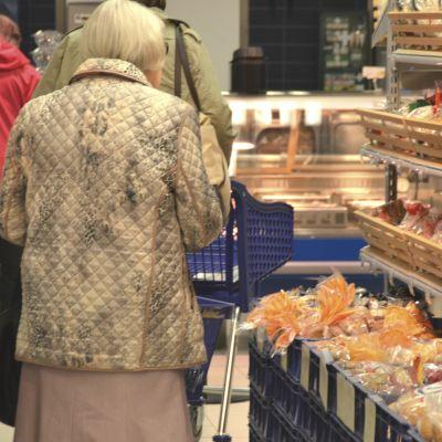 Åldring i matbutik
