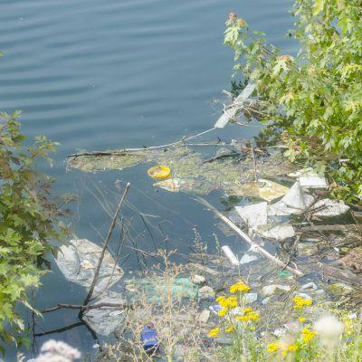 Avfall i vattnet