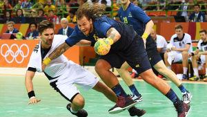 Andreas Nilsson och Sverige behöver mål och poäng.